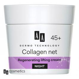 AA - Dermo Technology 45+ Regenerační a liftingový NOČNÍ KRÉM s kolagenem a vitamínem E 50 ml Produkty