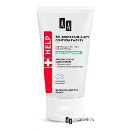 AA - Help Acne Čistící gel na obličej s regulací tvorby kožního mazu 150 ml