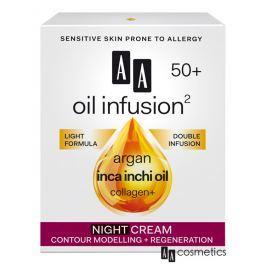AA - Oil Infusion Noční regenerační a zpevňující krém 50+ 50 ml