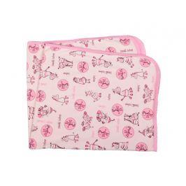 ANTONY FASHION - Deka do kočárku - zebřičky - růžová Produkty