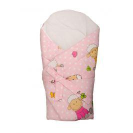 ANTONY FASHION - Zavinovačka s výztuží - ovečky - růžová Produkty