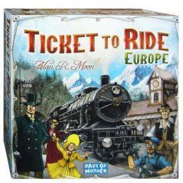 ASMODEE - ADC Blackfire Společenská hra Ticket to Ride Europe Vše do domácnosti