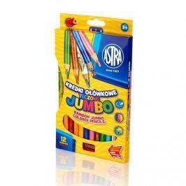 ASTRA - ASTRA Jumbo pastelky 12 ks Rainbow Produkty