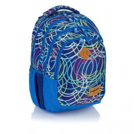 ASTRA - Studentský batoh Head HD-103 neon kruhy