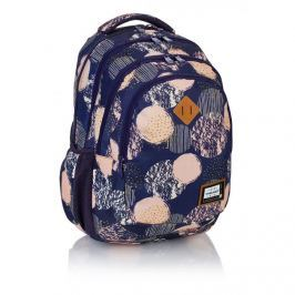 ASTRA - Studentský batoh Head HD-40 modrý s kruhy