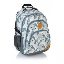 ASTRA - Studentský batoh Head HD-48 tukan šedý Vše do domácnosti