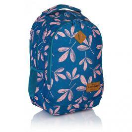 ASTRA - Studentský batoh Head HD-60 růžové listy Vše do domácnosti