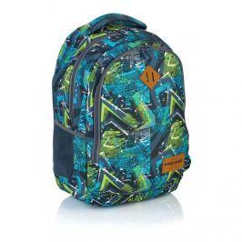 ASTRA - Studentský batoh Head HD-78 modrozelený Vše do domácnosti