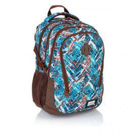 ASTRA - Studentský batoh Head HD-85 barevný vzor Vše do domácnosti