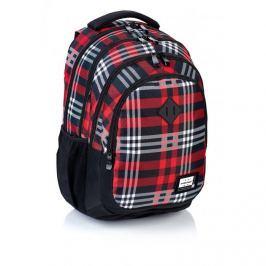 ASTRA - Studentský batoh Head HD-90 černočervená kostka Vše do domácnosti