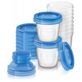 AVENT - VIA zásobníky na mateřské mléko 10 ks Vše do domácnosti
