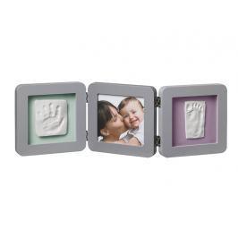 BABY ART - Rámeček Double Print Frame Grey Vše do domácnosti