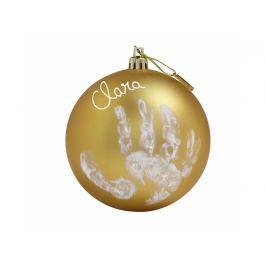 BABY ART - Vánoční koule Christmas Ball Gold Produkty