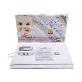 BABY CONTROL - Monitor dechu Baby Control BC-210, s 1x2 senzorovými podložkami Vše do domácnosti