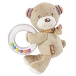 BABY FEHN - Rainbow chrastítko medvídek