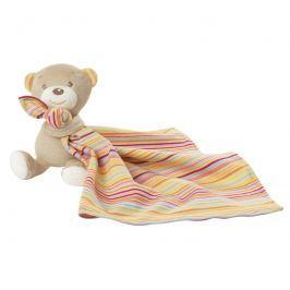 BABY FEHN - Rainbow medvídek s muchláčkem