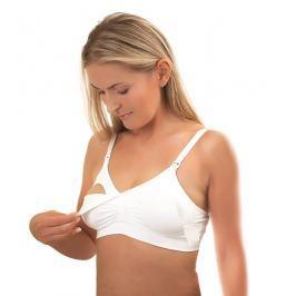 BabyOno - Podprsenka pro těhotné a kojící ženy White vel. D70-75