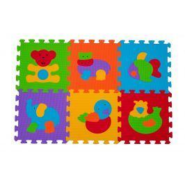 BabyOno - Puzzle pěnové zvířátka 6ks, 6m+