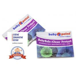 BABYPOINT - Dezinfekční vlhčené utěrky BabySafe & Clean Protect Produkty