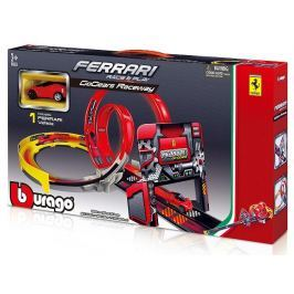 BBURAGO -  Bburago 1:43 Ferrari Race & Play GoGears Raceway s jedním autíčkem 31301 Modely aut