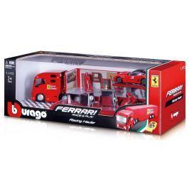 BBURAGO -  Bburago 1:43 Ferrari Race & Play Hauler Kamion s jedním autíčkem 31202 Modely aut