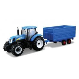 BBURAGO - New Holland T7040 s přívěsem 1:32