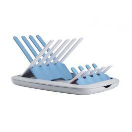 BEABA - Skládací odkapávač kojeneckých lahví - šedá / modrá