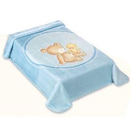 BELPLA - Baby perla deka, 549, 80x110, modrá