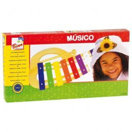 BINO - 86557 Xylofon kovový obloukový