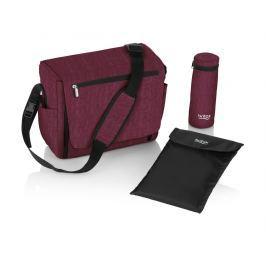 BRITAX - Přebalovací taška - Wine Red Melange