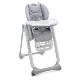 CHICCO - Židle jídelní Polly 2 Start - Happy Silver