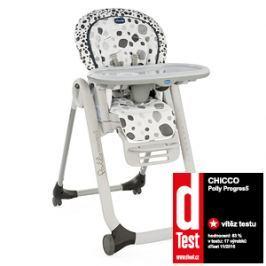 CHICCO - Židle jídelní Polly Progres5 - Anthracite