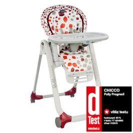 CHICCO - Židle jídelní Polly Progres5 - Cherry