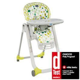 CHICCO - Židle jídelní Polly Progres5 - Kiwi