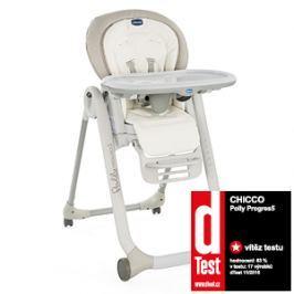 CHICCO - Židle jídelní Polly Progres5 - White Snow Special Edition