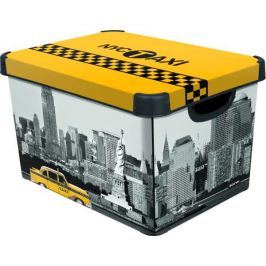CURVER - Dekorativní úložný box - L - NEW YORK
