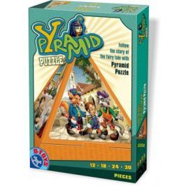 D-TOYS - Puzzle Pyramid Fairy Tales