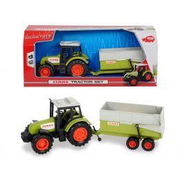 DICKIE - Traktor Claas S Přívěsem 36 Cm