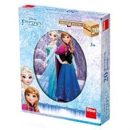 DINOTOYS - Dřevěné kostky Frozen 20 ks