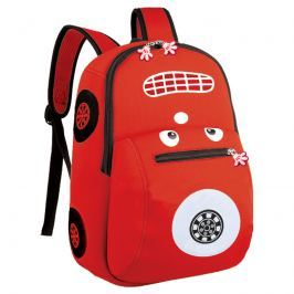 EASY - Batoh neoprenový - dětský autíčko červené