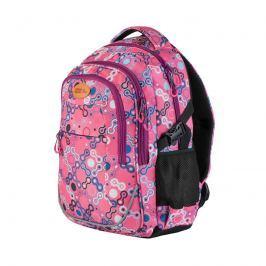 EASY - Batoh školní - sportovní - vzory - růžové zipy
