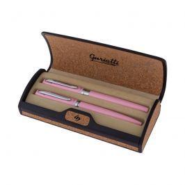 EASY - Guriatti ADRIANA Set plnicí a kuličkové pero růžové