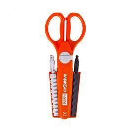 EASY - Nůžky 16 cm - vyměnitelné ozdobné ostří 9 vzorů  1ks