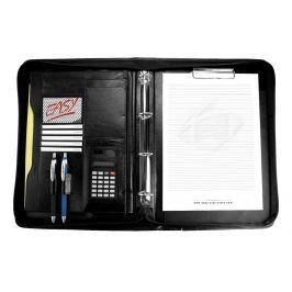 EASY - Portfolio /Guriatti/ CALCULATE se zipem  A4-B-04 černé