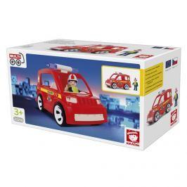 EFKO-KARTON - Igráček hasičské auto s hasičům 23218