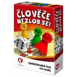 EFKO-KARTON - Společenská hra Člověče cestovní verze 54942