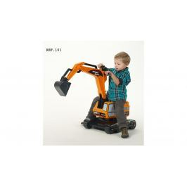 FALK - odrážedlo 101 Excavator oranžové