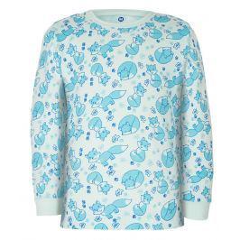 GMINI - PRIMA-pyžamo dvoudílné LIŠKA A modrá 086