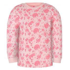 GMINI - PRIMA-pyžamo dvoudílné LIŠKA A růžová 086