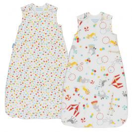GRO - Vak spací  Roll Up Wash & Wear Twin Pack 2.5 Tog 0-6m Grobag